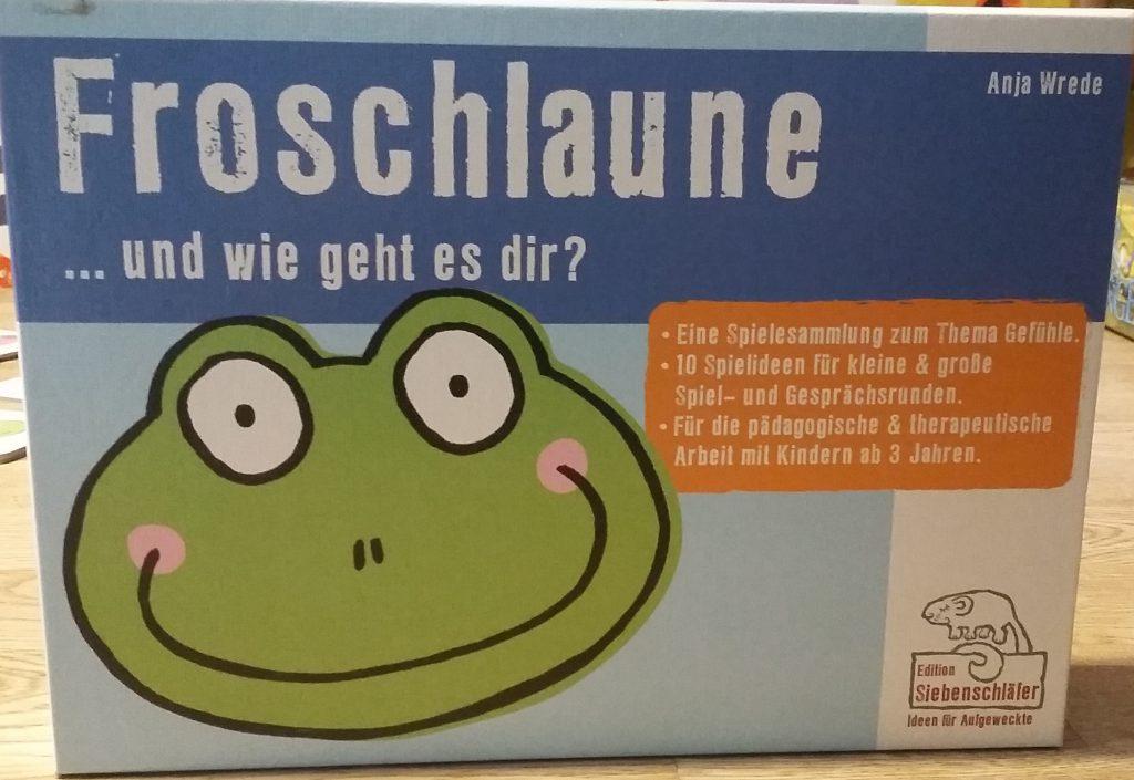 Froschlaune…und wie geht es Dir? - Ein Spiel für die