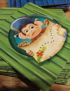 Bild: Spielkarte Affe