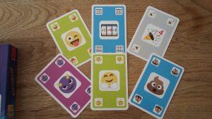 Bild: sechs aufgedeckte Spielkarten