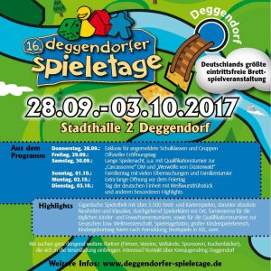 Bild: Plakat Deggendorfer Spieletage