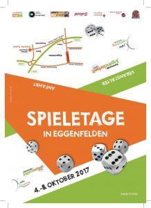 Bild: Flyer Spieletage in Eggenfelden