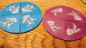 Bild: verdeckte Pizza-Stücke
