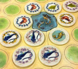 Bild: Spielsteine auf Spielfeld