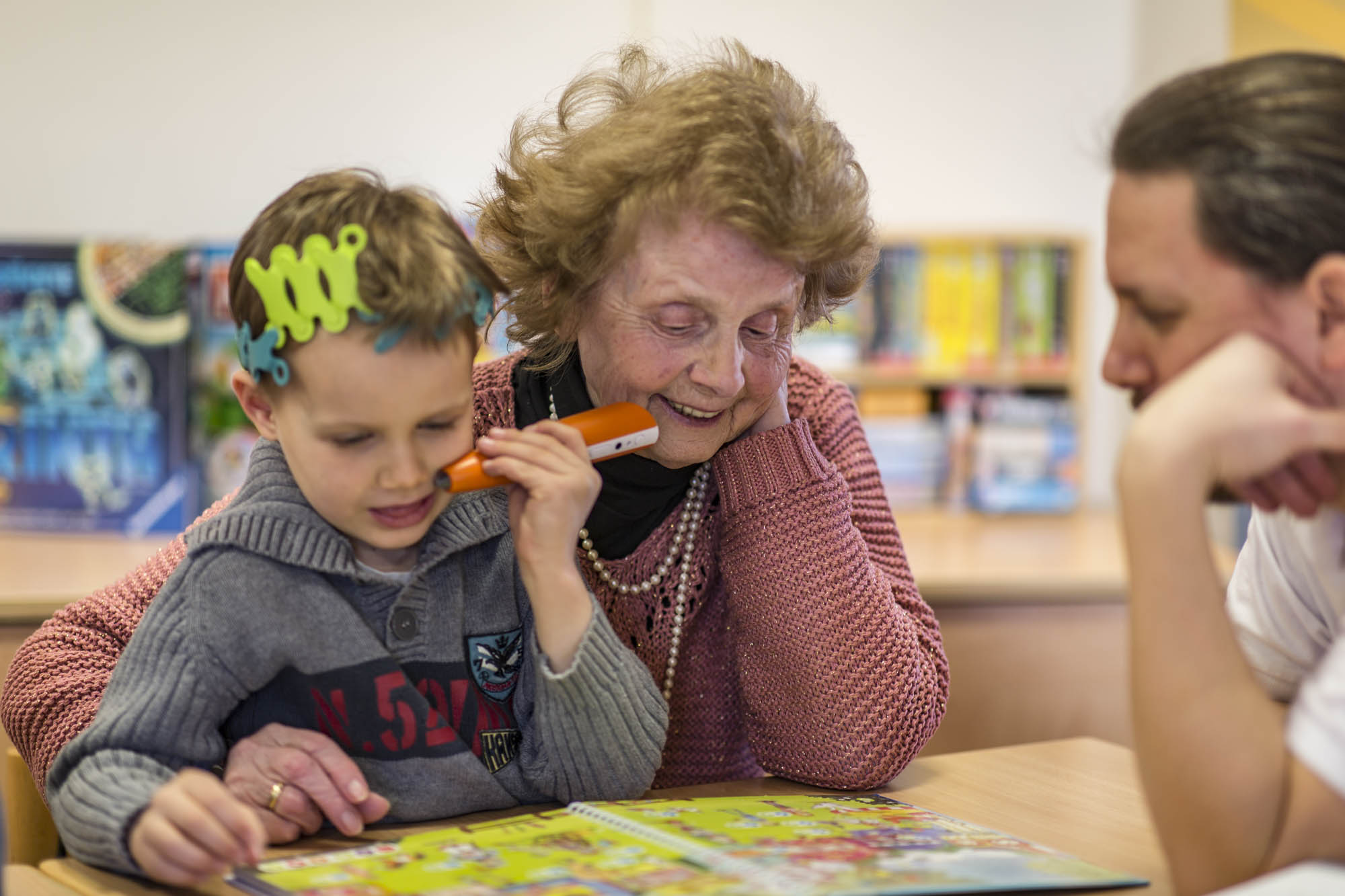 Ein soziales Projekt für Jung und Alt