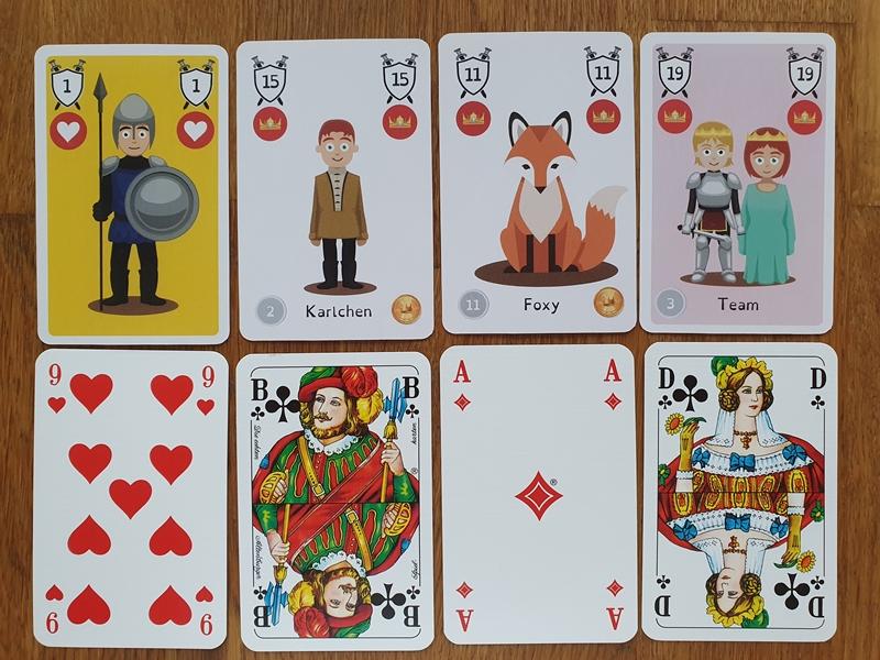 Spielkarten Doppelkopf und Double Head: die wichtigsten Trümpfe im Vergleich