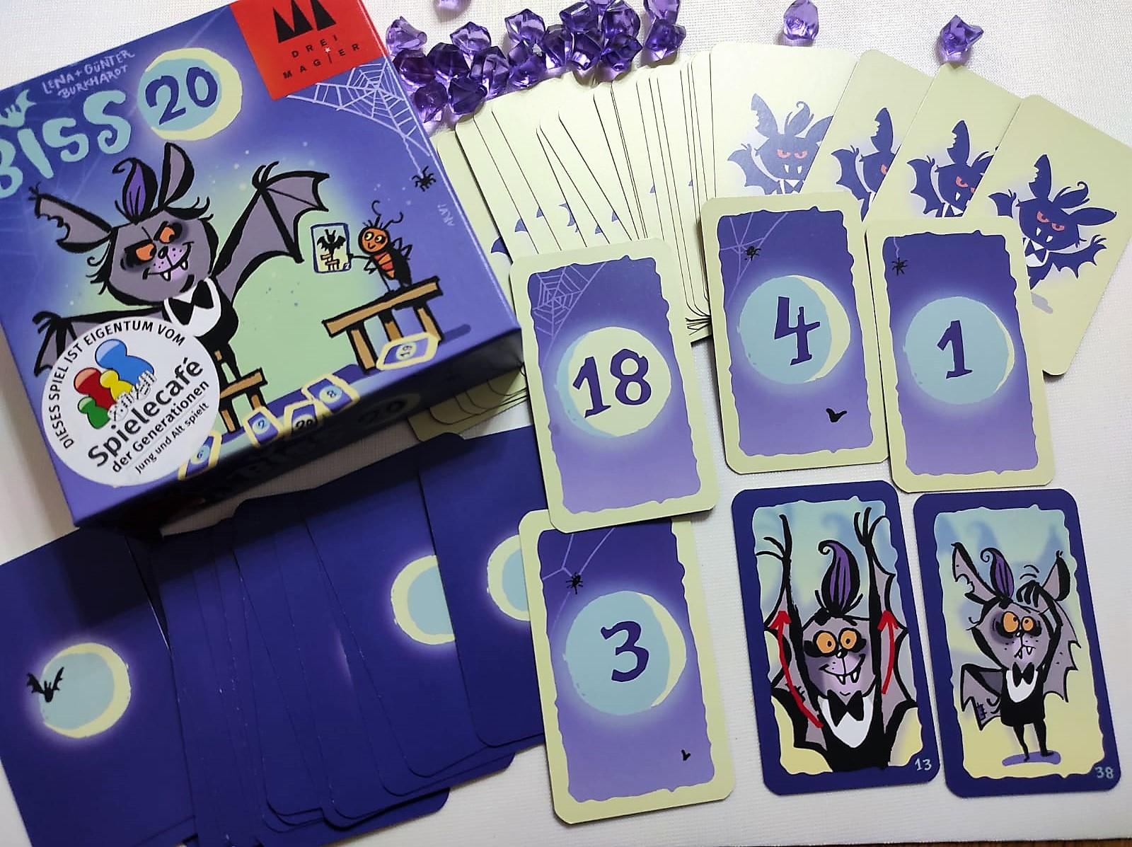 Ein Blick auf das Material mit den Zahlenkarten
