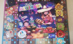 Fiesta Mexicana: Cover und Spielmaterial