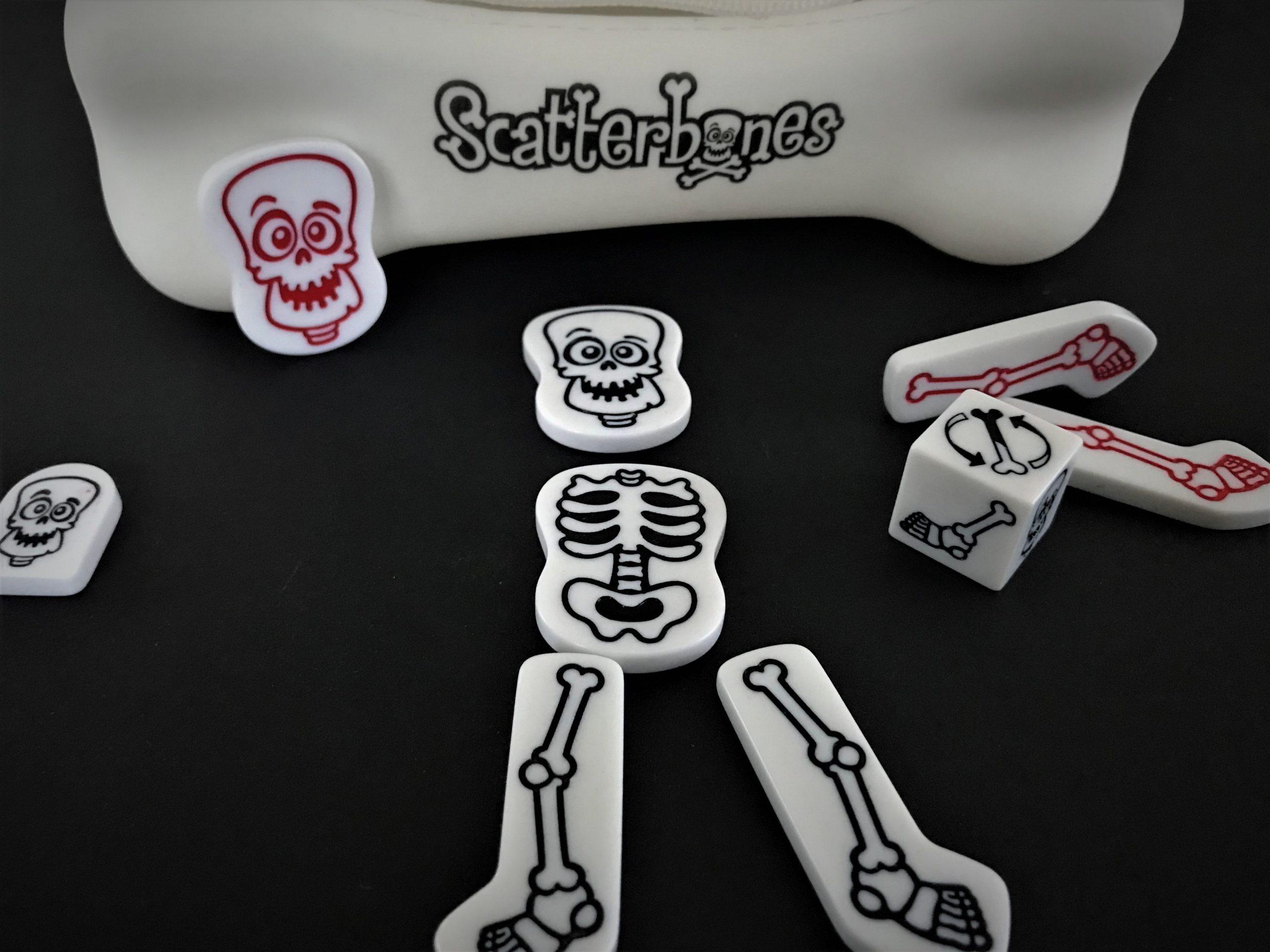 Fast fertig. Dem zentralen Skelett fehlen noch zwei Arme.