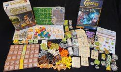Spiel und Erweiterung: viel Material