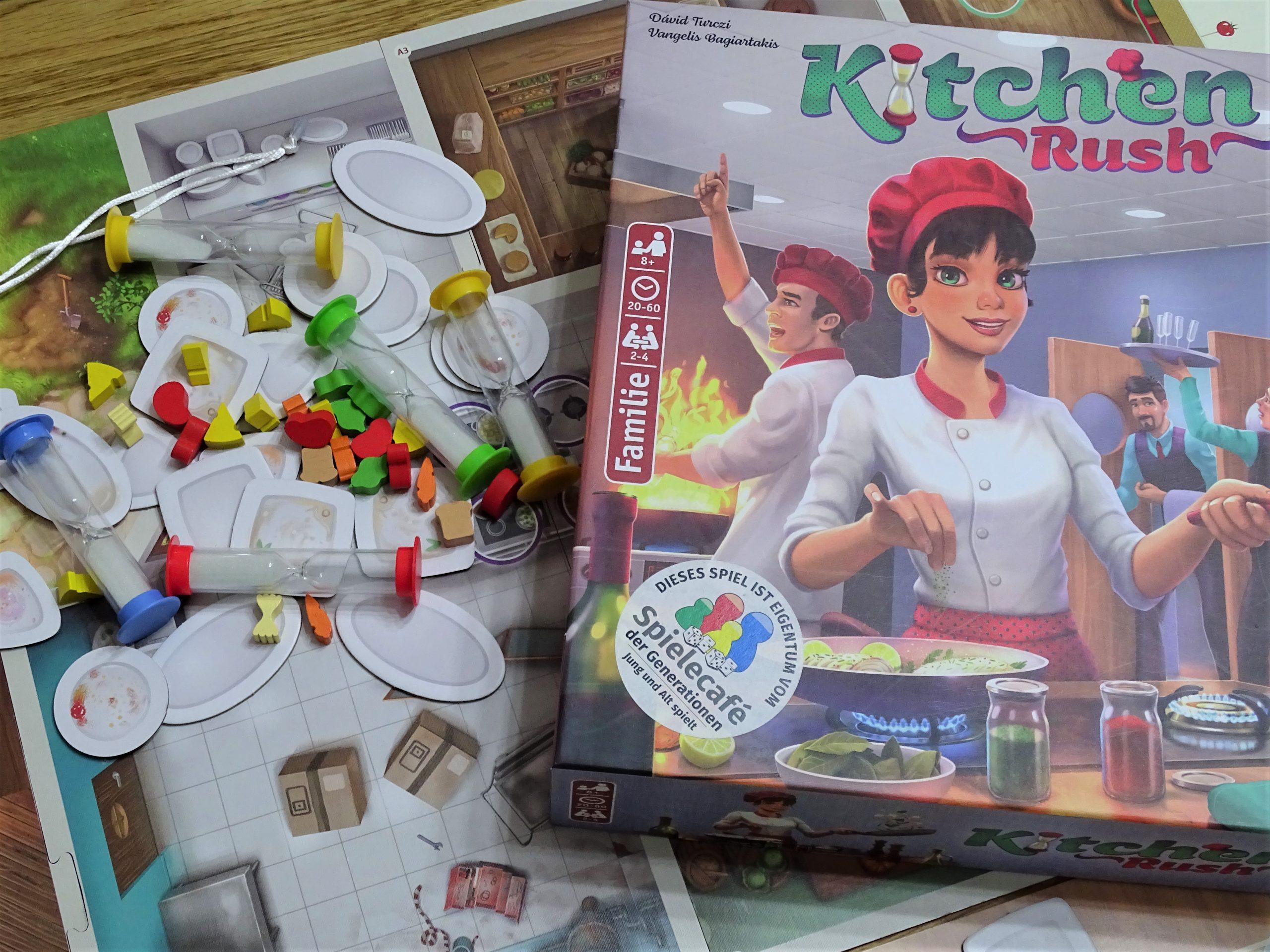 Blick auf den Inhalt von Kitchen Rush