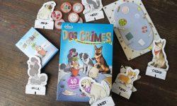 Dog Crimes Schachtel und Inhalt