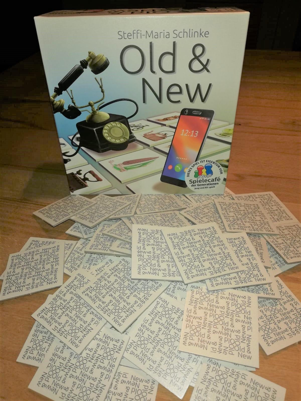 Old & New Schachtel und Inhalt
