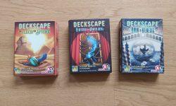 Zu sehen sind verschiedene Deckscape Titel