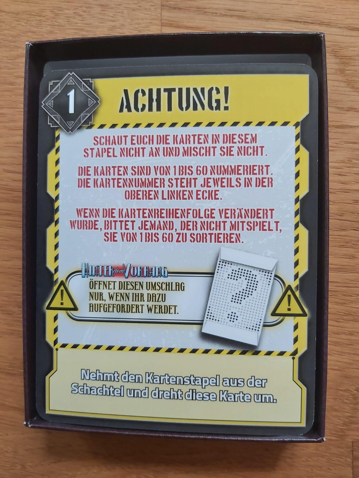 Zu sehen ist das Kartendeck von Deckscape
