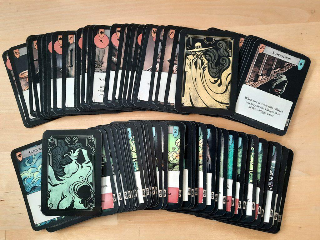 Pagan (Prototyp) - viele Spielkarten