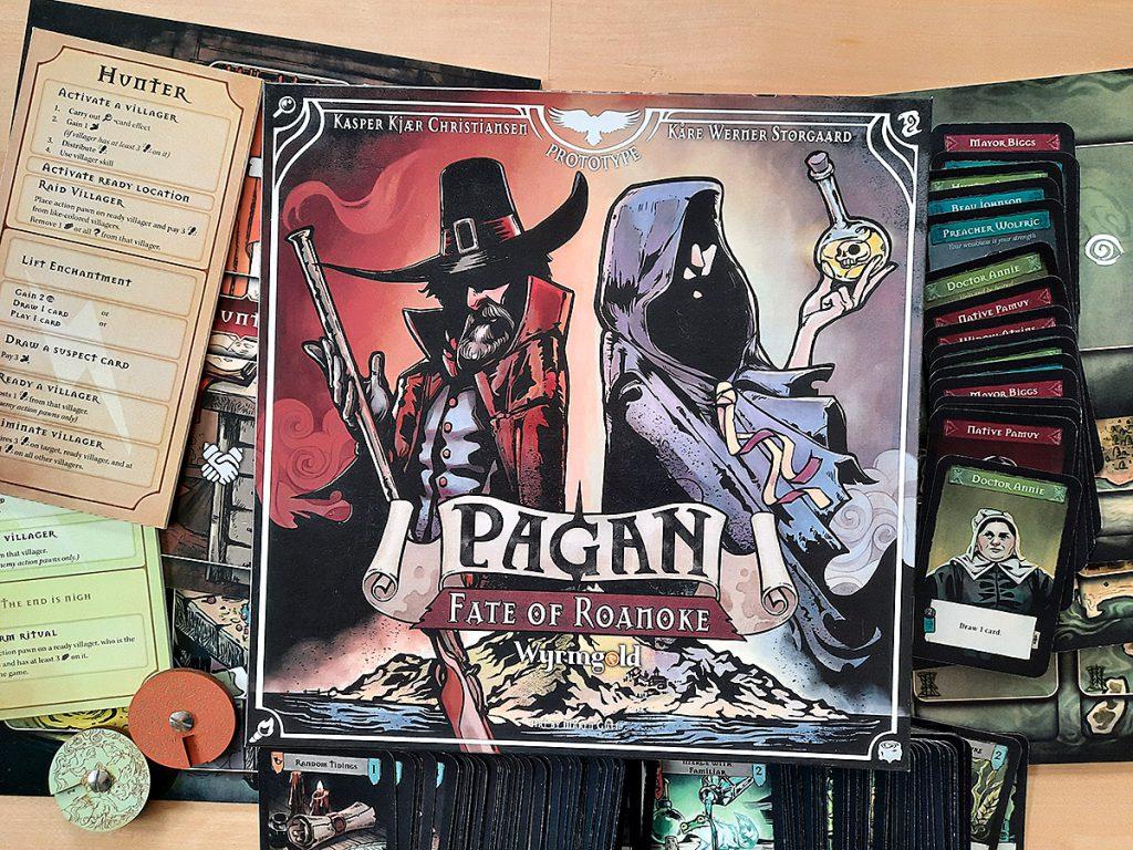 Pagan (Prototyp) - Spielbox