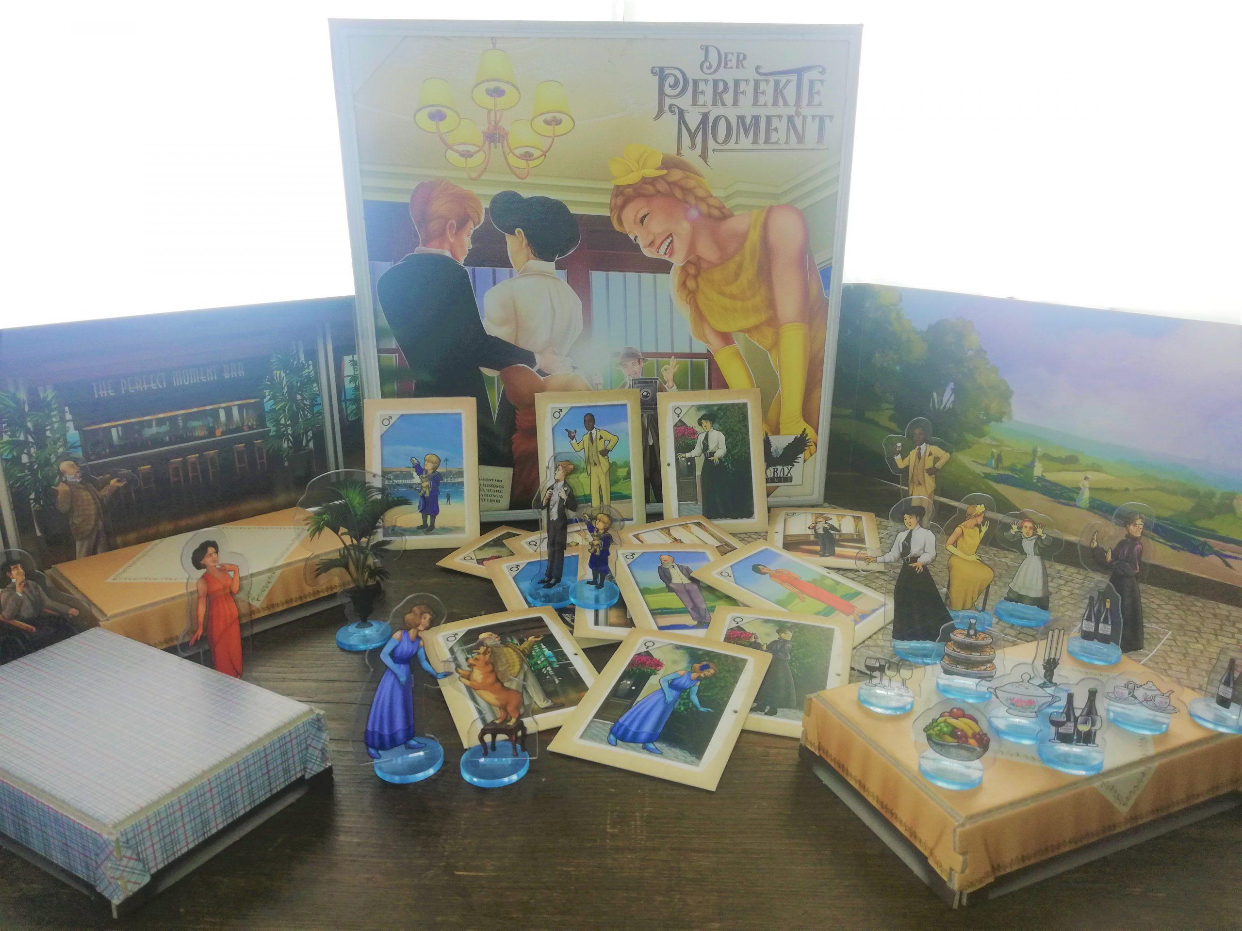 Inhalt Der Perfekte Moment Tische Boden Personenkarten