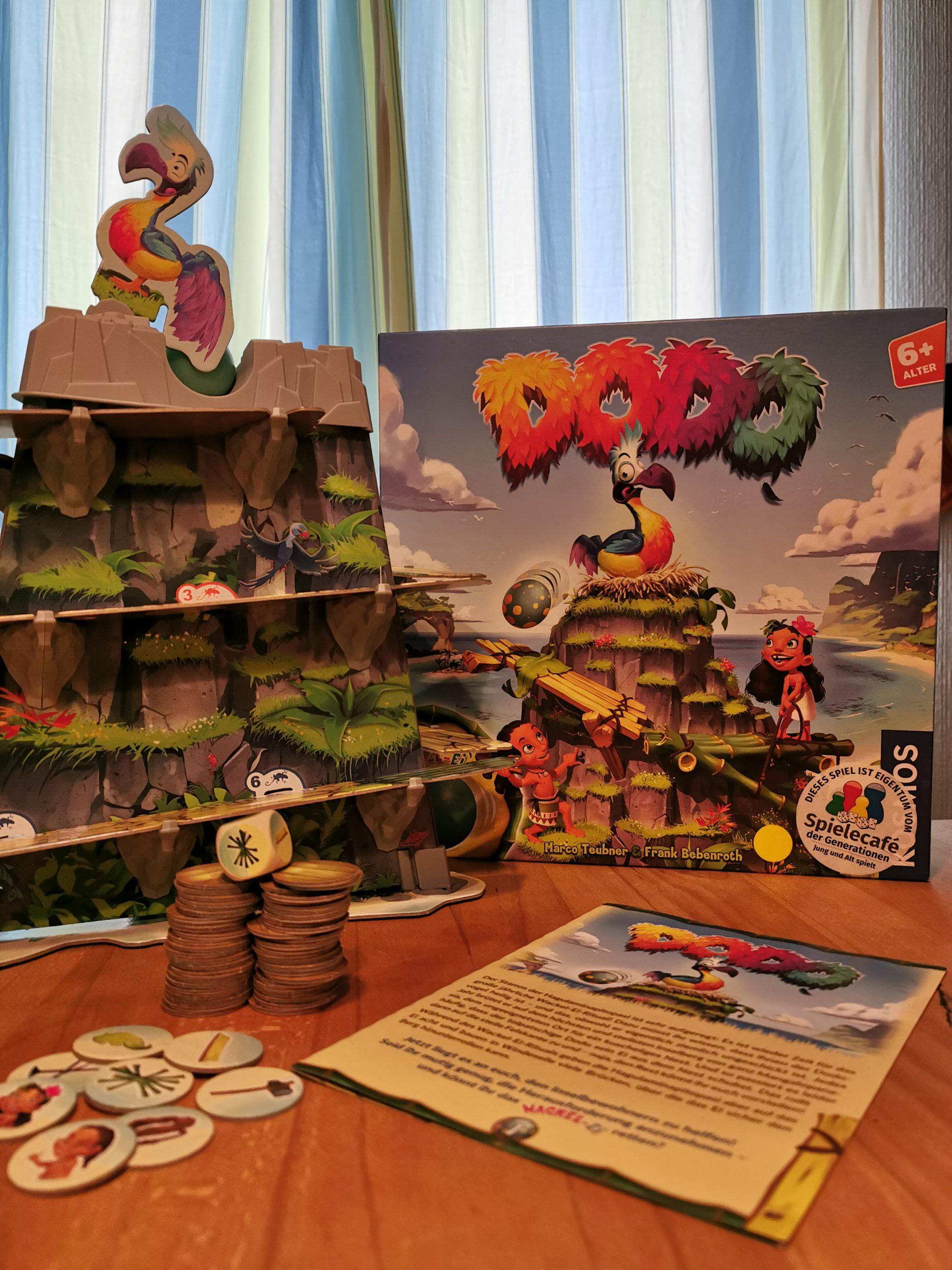 Dodo, Spielmaterial