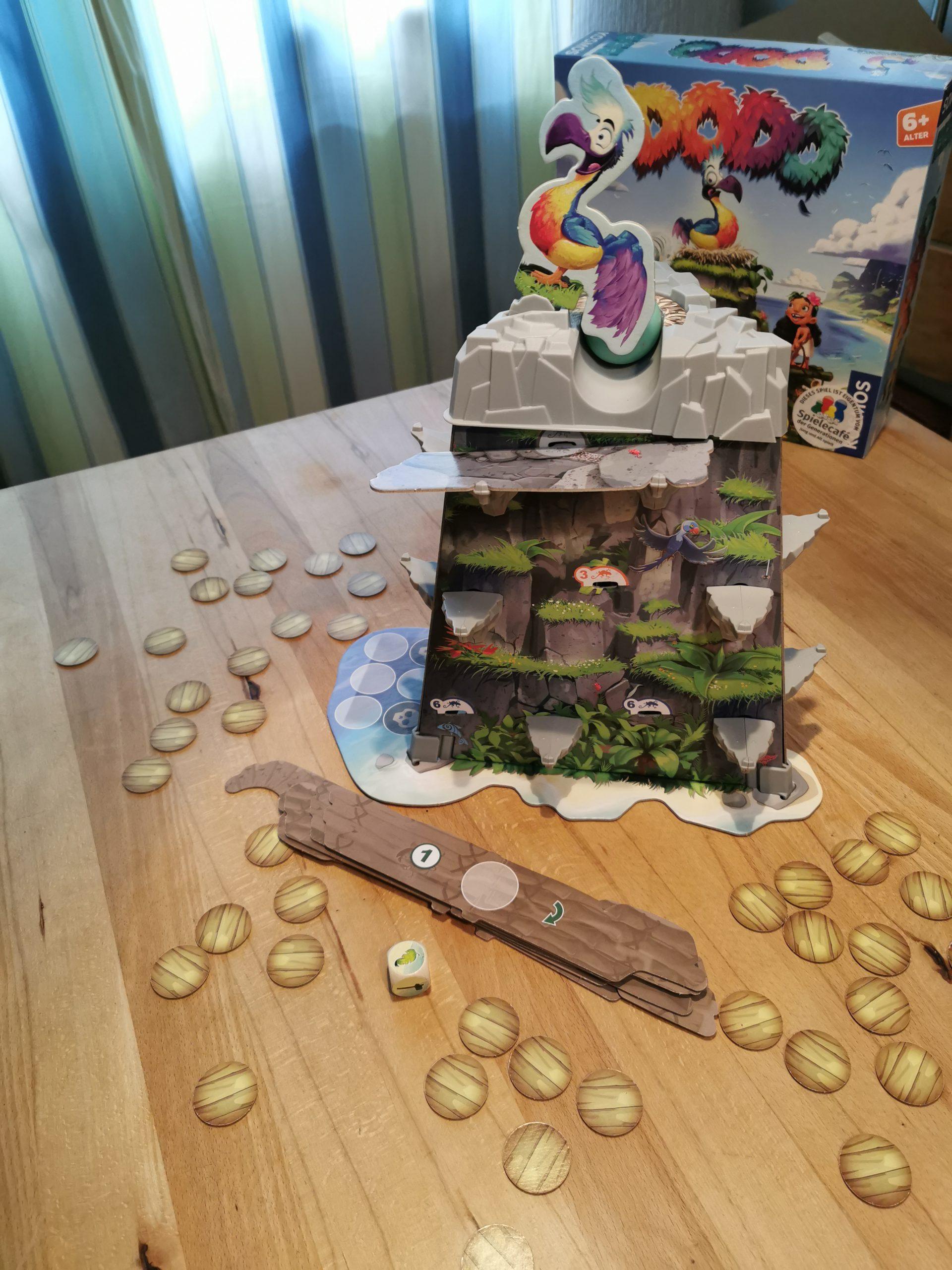 Dodo - Spielaufbau
