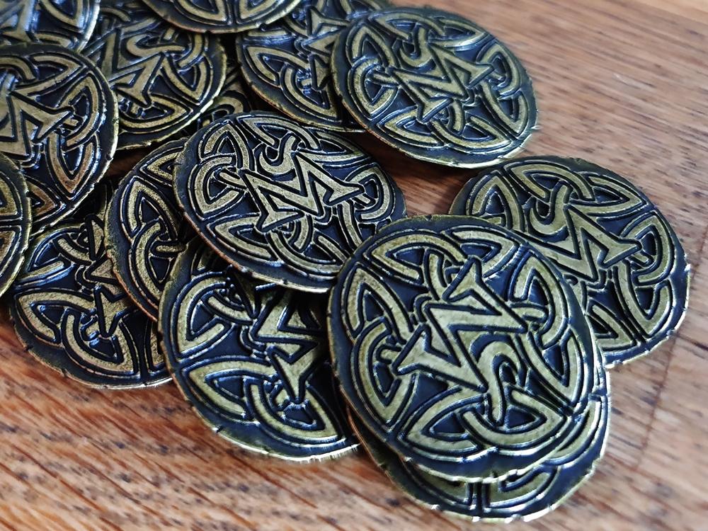 Metallmünzen im Detail