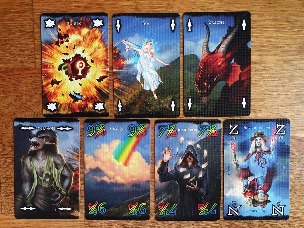 Sieben neue Sonderkarten