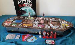 Aufgebautes Spiel plus Material: ein Schiff in 3D
