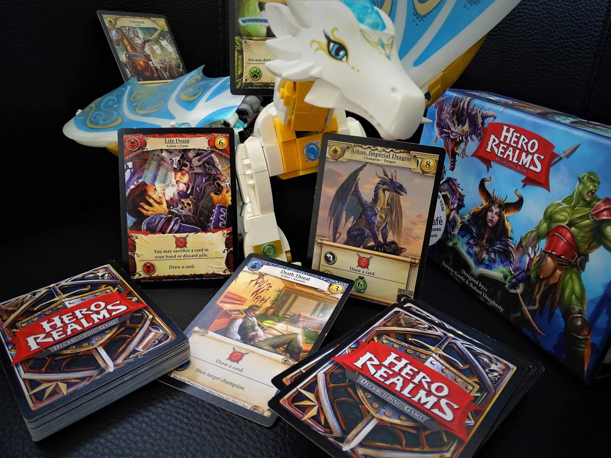 Hero Realms - ein Kartenspiel mit Deckbau-Mechanismus