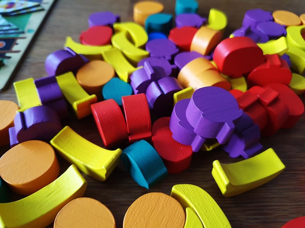 Viele Spielsteine Frucht