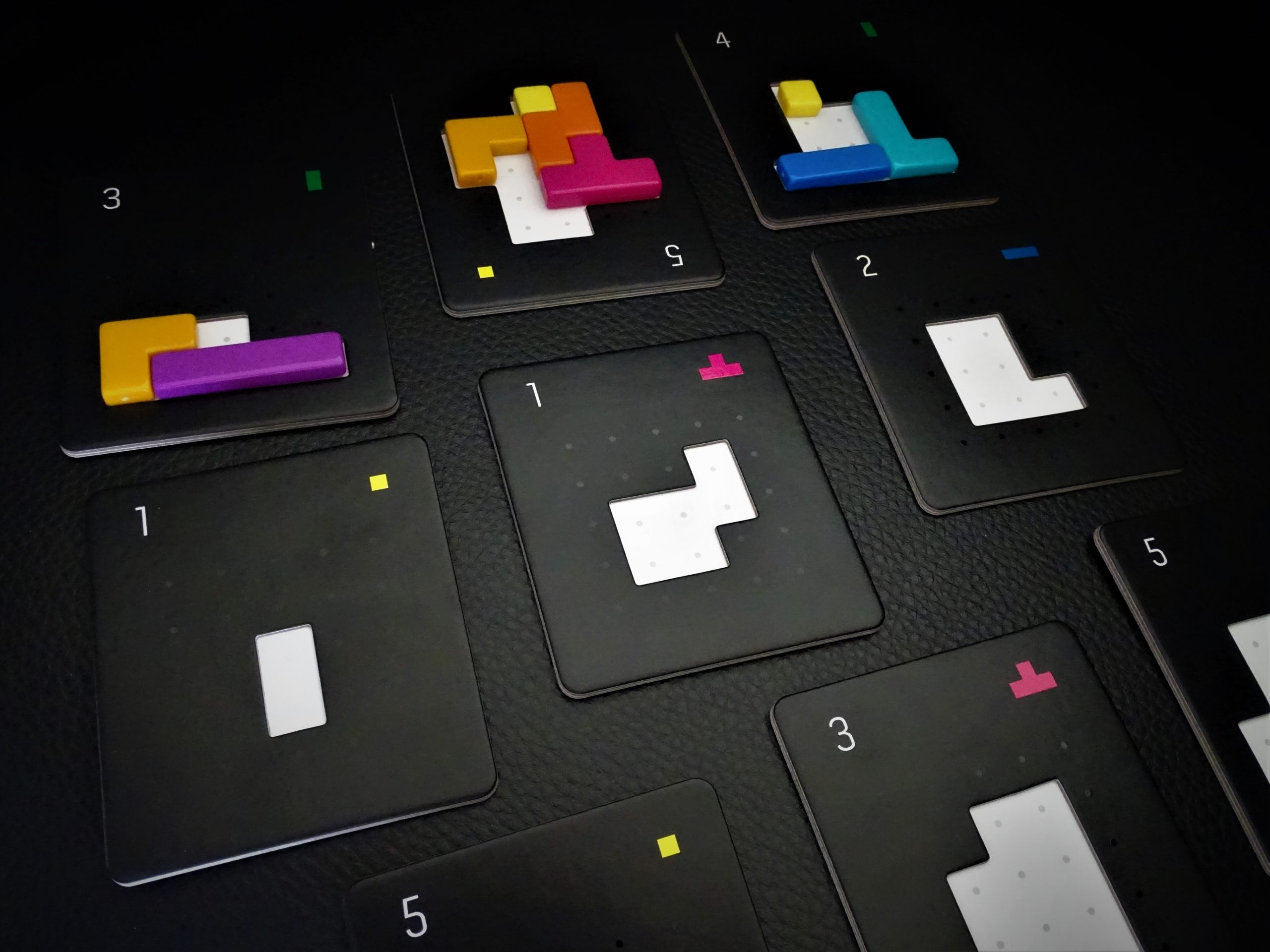 Die Puzzles zeigen Belohnungspunkte und Belohnungspuzzleteile
