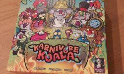 Zu sehen ist die Verpackung von Karnivore Koala.