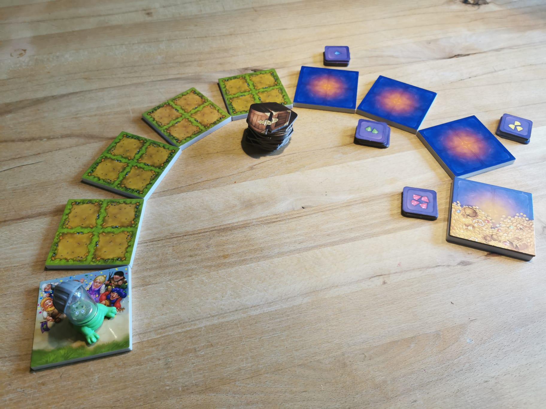 Raffi Raffzahn Spielaufbau