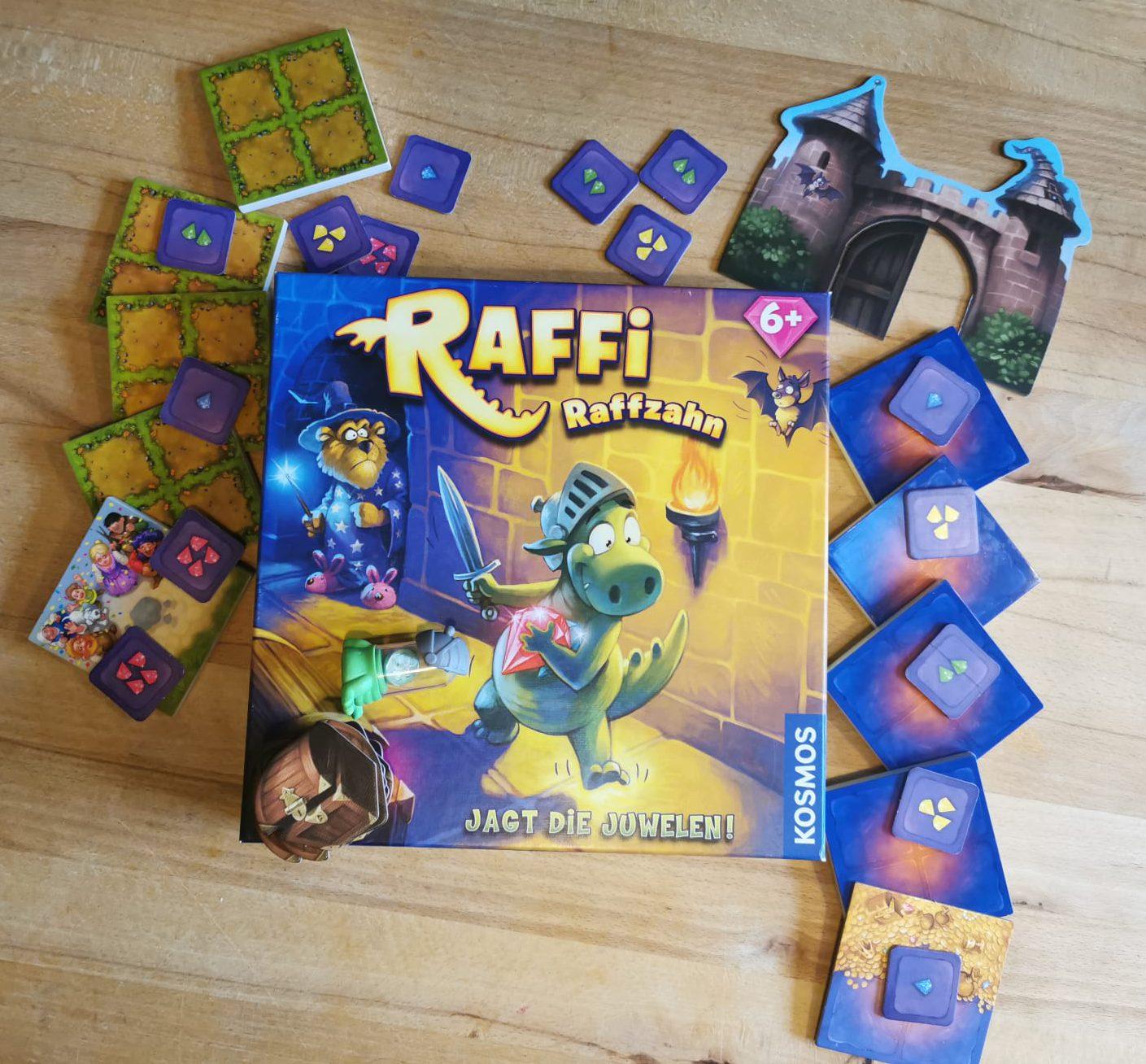 Raffi Raffzahn Spielmaterial